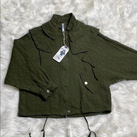 Mur Mur Jackets & Blazers - Mur Mur Lightweight Soft Cotton Batwing Jacket NWT